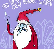 Icy king x-mas card by JJImagearts