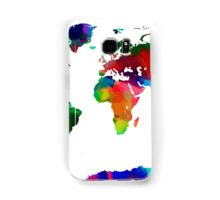 Map of the World Map Painting Samsung Galaxy Case/Skin