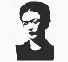 Frida Kahlo Sticker/Tshirt by georgiagraceart