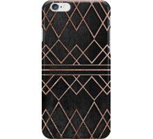 Chic & Elegant Faux Rose Gold Geometric Triangles iPhone Case/Skin