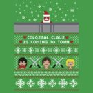Colossal Claus Sweater + Card  by rydiachacha