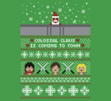Colossal Claus Sweater + Card  T-Shirt