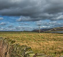 Dry stone walls and fields by Judi Lion