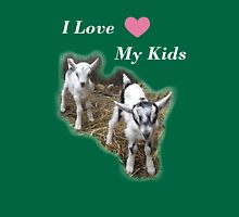 I Love My Kids Womens Fitted T-Shirt