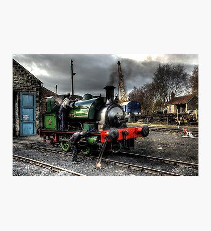 No 2 Steam Engine Photographic Print