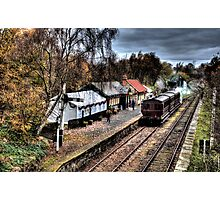 Tanfield Railway: Andrews House Station Photographic Print