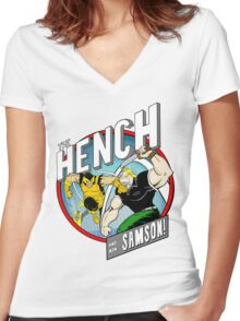 BRING IT!!! Women's Fitted V-Neck T-Shirt