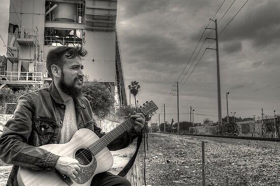 Folk Singer by Bill Wetmore