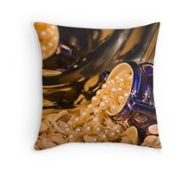 Still life with the pearls Throw Pillow