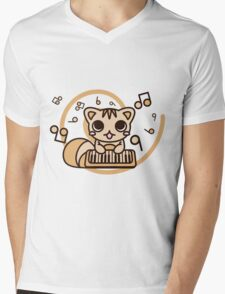 Squirrel_Method Mens V-Neck T-Shirt