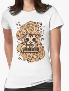 Squirrel_Method Womens Fitted T-Shirt
