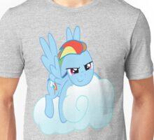 Rainbow Dashed Unisex T-Shirt