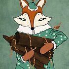 Blue eyes fox by Grikis