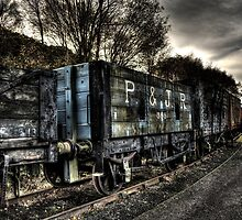 P And J R 359 Waggon by Andrew Pounder