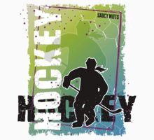Abstract Hockey Female Kids Clothes