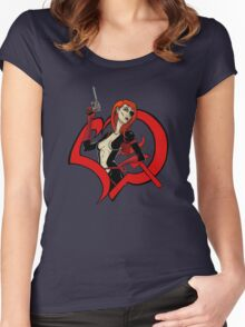 Molotov Cocktease Women's Fitted Scoop T-Shirt