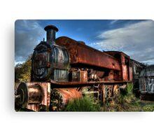 Rusting Locomotive Canvas Print