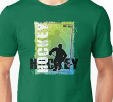 Abstract Hockey Unisex T-Shirt