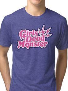Girls Dead Monster Tri-blend T-Shirt