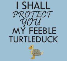 I SHALL PROTECT YOU MY FEEBLE TURTLEDUCK by avatarem
