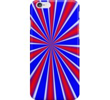iPhone Case Red White Blue iPhone Case/Skin