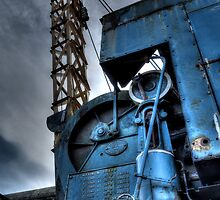 Tanfield Railway Crane by Andrew Pounder