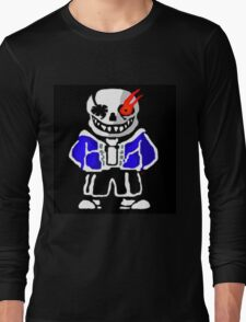 Undertale - Evil Sans Artwork (By Giullare) Long Sleeve T-Shirt