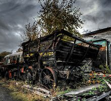 Coal Waggon by Andrew Pounder