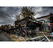 Coal Waggon Photographic Print