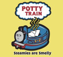 Potty Train: Steamies are Smelly! Baby Tee