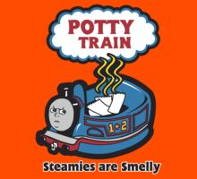 Potty Train: Steamies are Smelly! Kids Tee