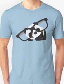 Hipster Panda Unisex T-Shirt