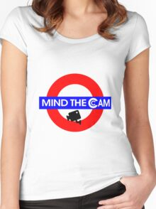 Mind the Cam Women's Fitted Scoop T-Shirt