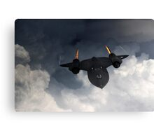 SR-71 Blackbird Canvas Print
