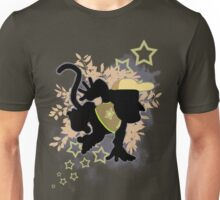 Super Smash Bros. Light Brown Diddy Silhouette Unisex T-Shirt