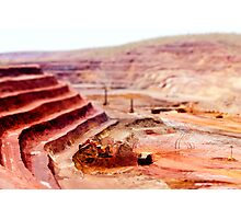 Mining Toys Photographic Print