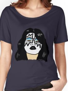 Ace Frehley Portrait  Women's Relaxed Fit T-Shirt