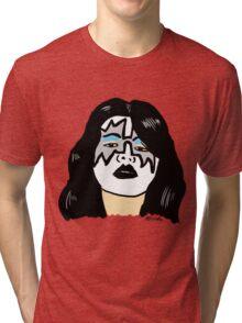 Ace Frehley Portrait  Tri-blend T-Shirt