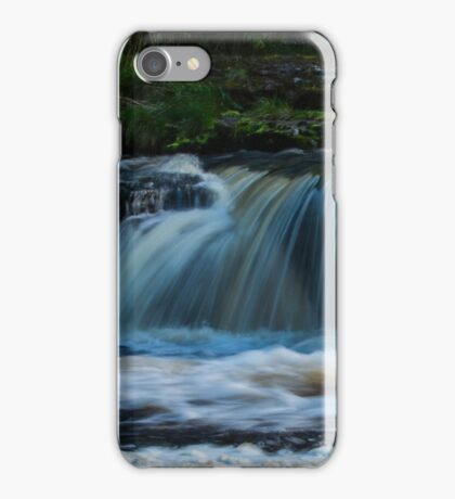 Aysgarth Waterfall, Yorkshire UK iPhone Case/Skin