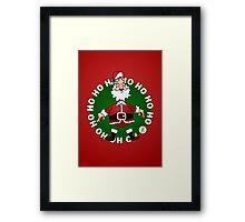 Santa Claus: Ho Ho Ho Framed Print