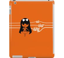Eat. Sleep. Sing. iPad Case/Skin