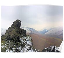 The Howitzer on Helm Crag Poster