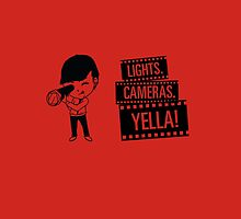 Lights. Cameras. YELLA by hebanation