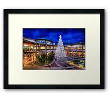 Christmas Shopping Framed Print