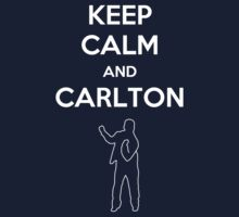 Keep Calm and Carlton Kids Tee