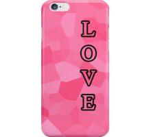 Pink Love iPhone Case/Skin
