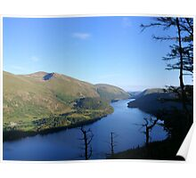 Thirlmere from Raven Crag Poster