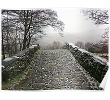Bridge at Rosthwaite Poster