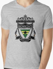 Browncoats Football Club Mens V-Neck T-Shirt