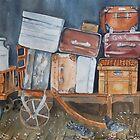 Lost Luggage By Nicole Barros by TwoBaysArtGroup